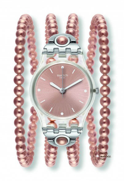 Swatch Pink Prohibition sold for € 75,-