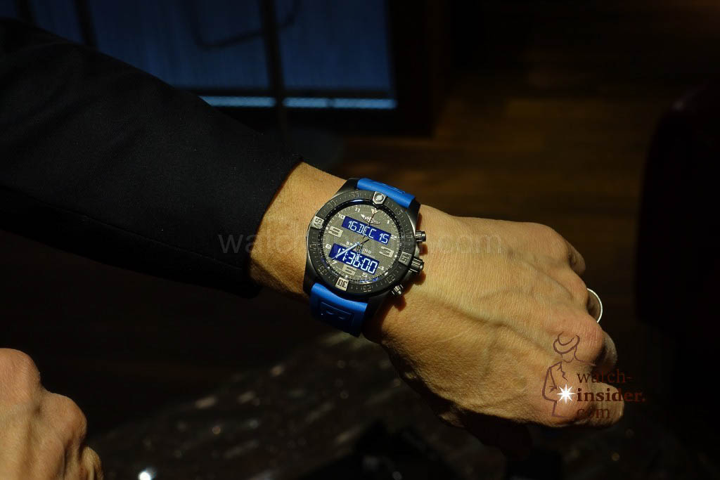 Breitling Exospace B55 Connected: On the wrist of Breitling VP Jean-Paul Girardin