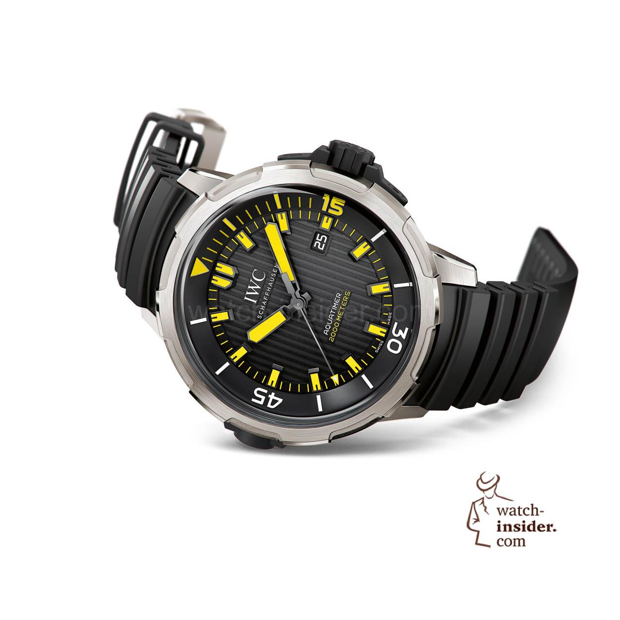 ed6808fbadf Let me show you three new IWC Schaffhausen Aquatimer diver´s watches