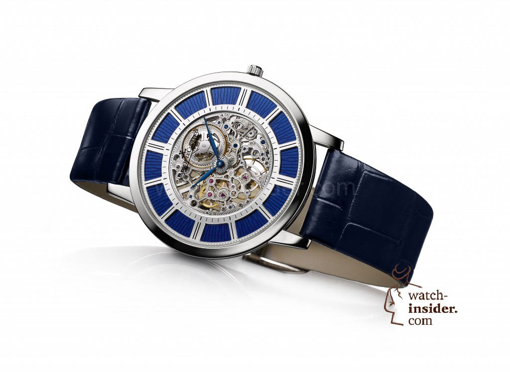 """Jaeger-LeCoultre """"Master Ultra Thin Squelette mit Email"""""""