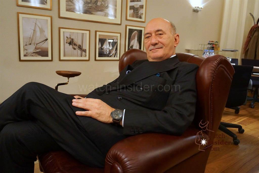 Angelo Bonati, CEO Panerai