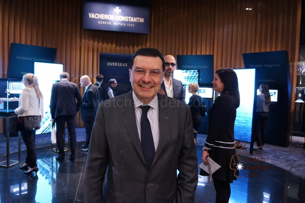 Charly Torres, CEO Vacheron Constantin