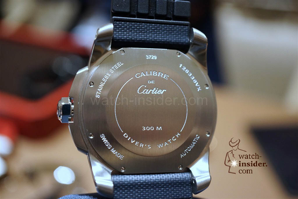 CARTIER Calibre de Cartier Diver Blue