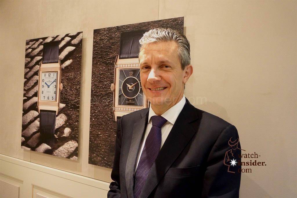Daniel Riedo, CEO Jaeger-LeCoultre