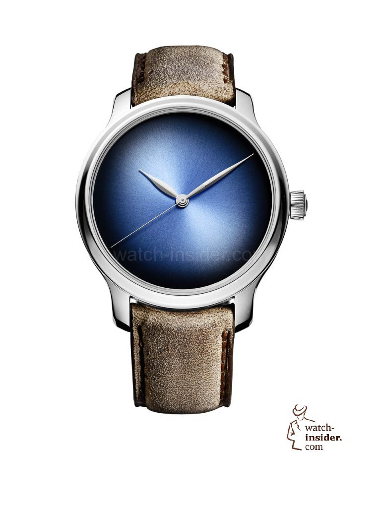 H. Moser & Cie. ENDEAVOUR CENTRE SECONDS CONCEPT FUNKY BLUE