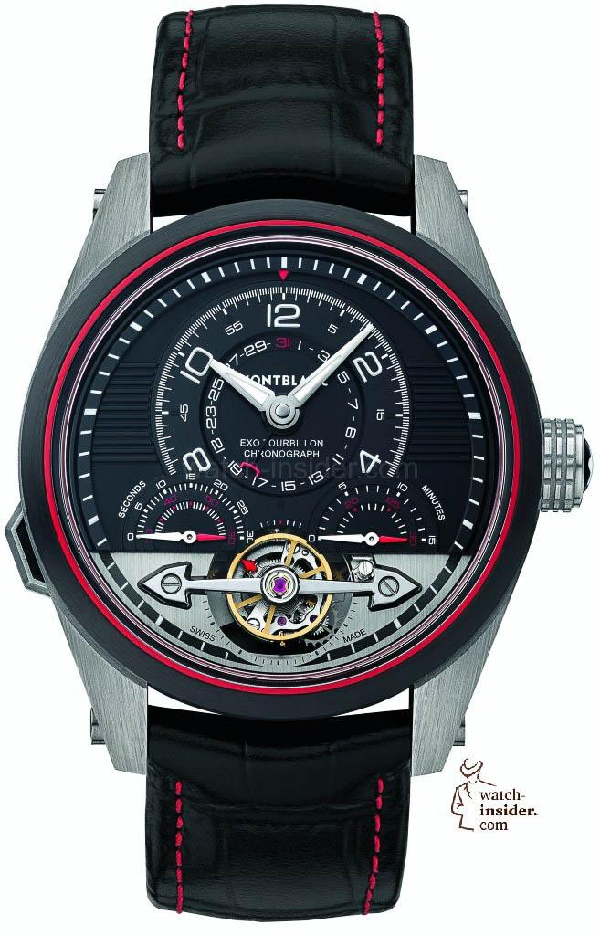 Montblanc TimeWalker ExoTourbillon Minute Chronograph LE 100