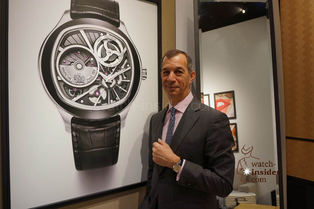 Pilippe Leopold-Metzger CEO Piaget