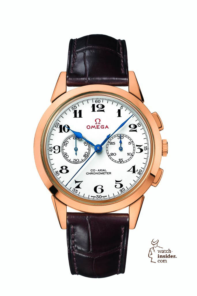 Omega Olympic Official Timekeeper Co-Axial Chronograph