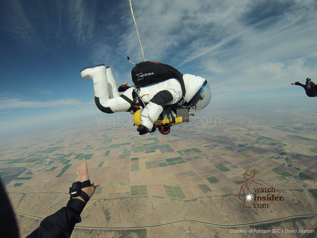 American Robert Alan Eustace parachuted from the stratosphere at a height of 41,419 metres. In doing so, he broke the altitude record set by Felix Baumgartner two years earlier.
