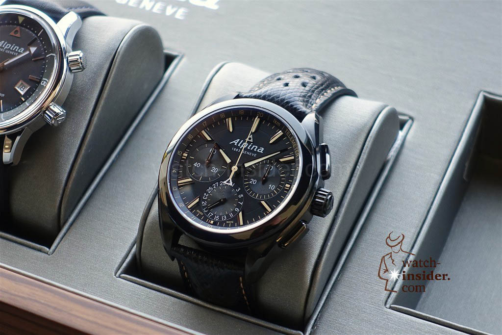 Alpina Full Black Alpiner 4 Manufacture Flyback Chronograph
