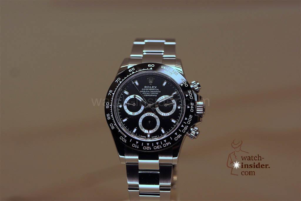 NEW Rolex Cosmograph Daytona in steel with ceramic bezel