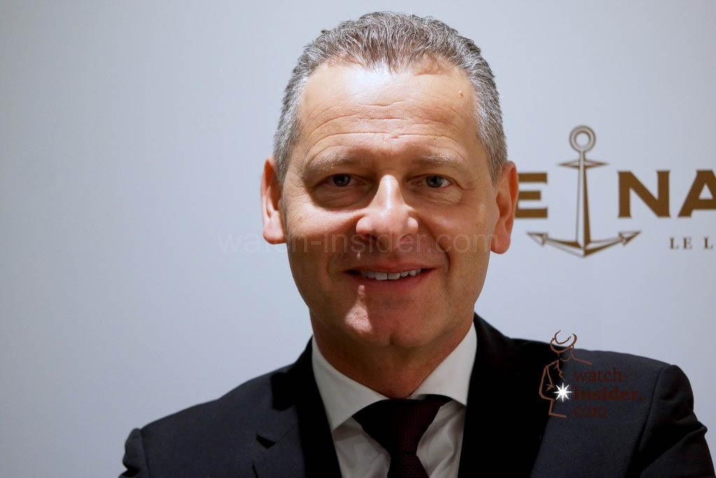 Patrik Hoffmann, CEO Ulysse Nardin