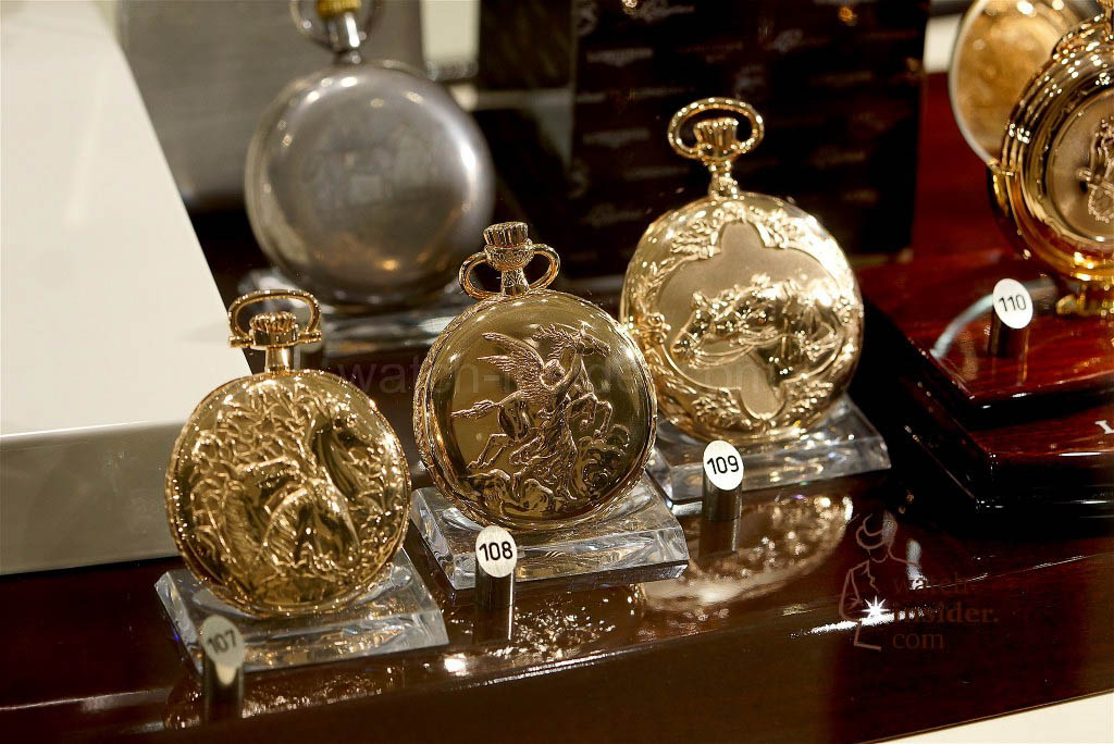 The Longines Equestrian Pocket Watches