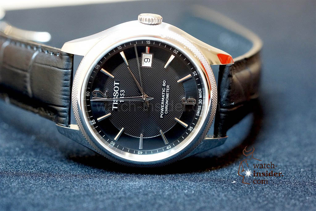 Tissot´s first wristwatch with a silicon balance-spring