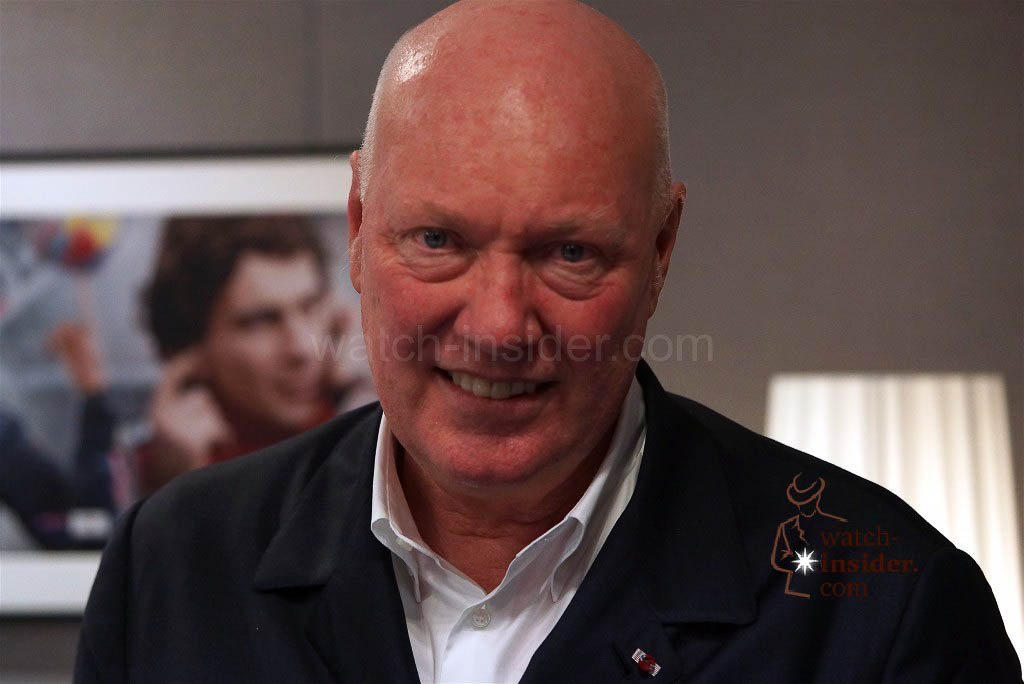 Jean-Claude Biver, Presdient of the LVMH Watch Division