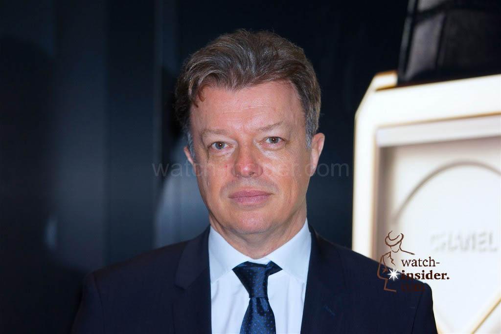 Nicola Beau CEO Chanel watch division