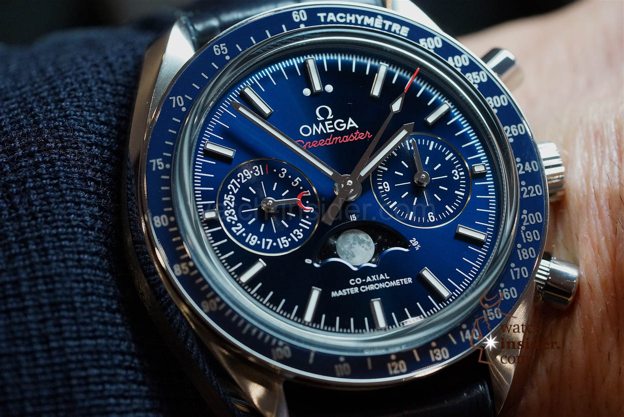 Hands On Omega Speedmaster Co Axial Master Chronometer Chronograph