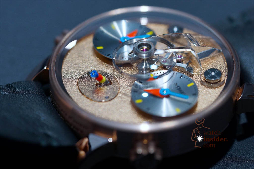 MB&F LM1 Silberstein in red gold