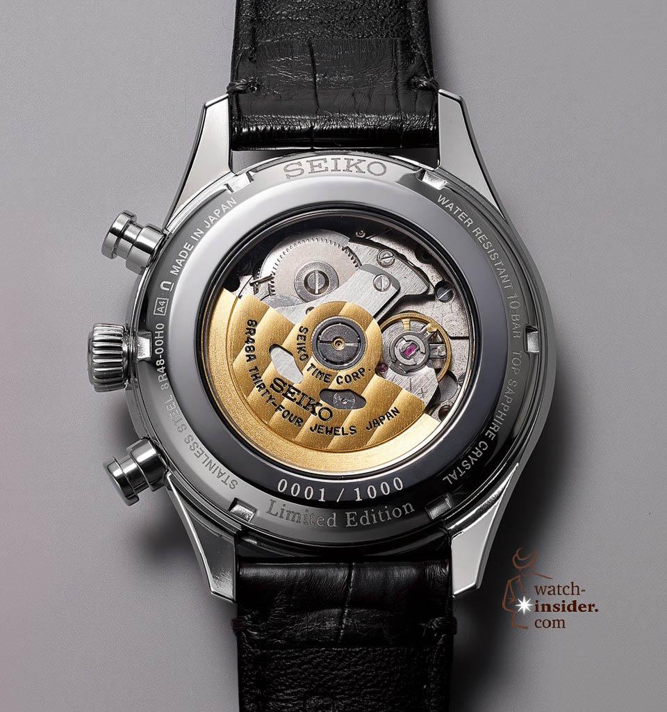 Seiko Presage Automatic Watch 60th Anniversary Limited Edition. Calibre 8R48