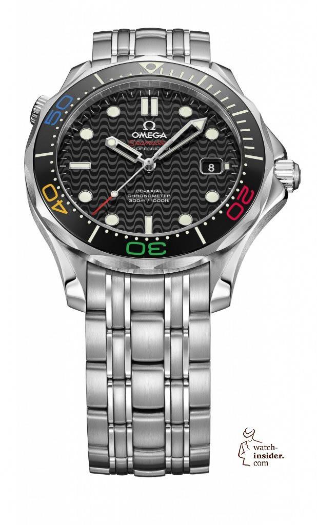 Omega Seamaster Diver 300M Rio 2016 Limited Edition