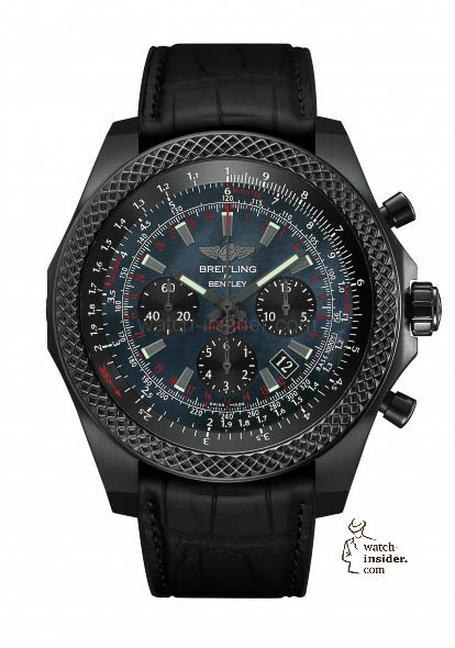 "Breitling ""Bentley B06 Midnight Carbon"""