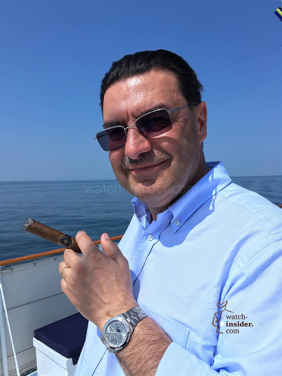 Charly Torres, CEO Vacheron Constantin