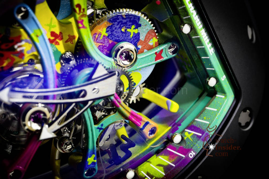 The making of the Richard Mille RM 68-01 Tourbillon Cyril Kongo watch