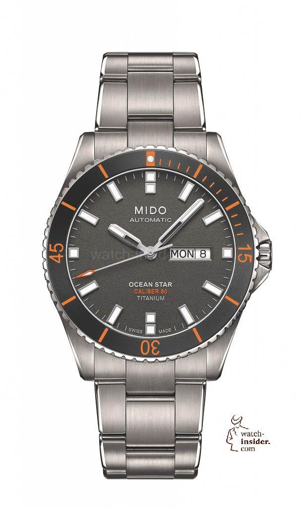 Mido Ocean Star Captain Titanium