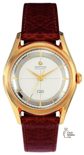 The historic Certina DS-1 from the year 1960.