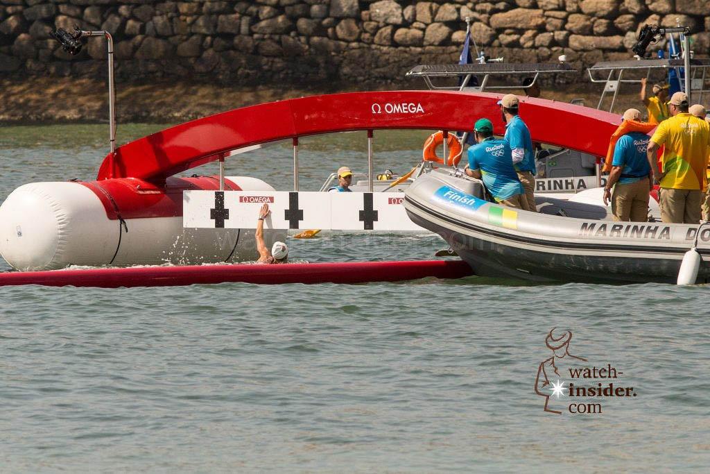 OMEGA RIO16 Open water swimming