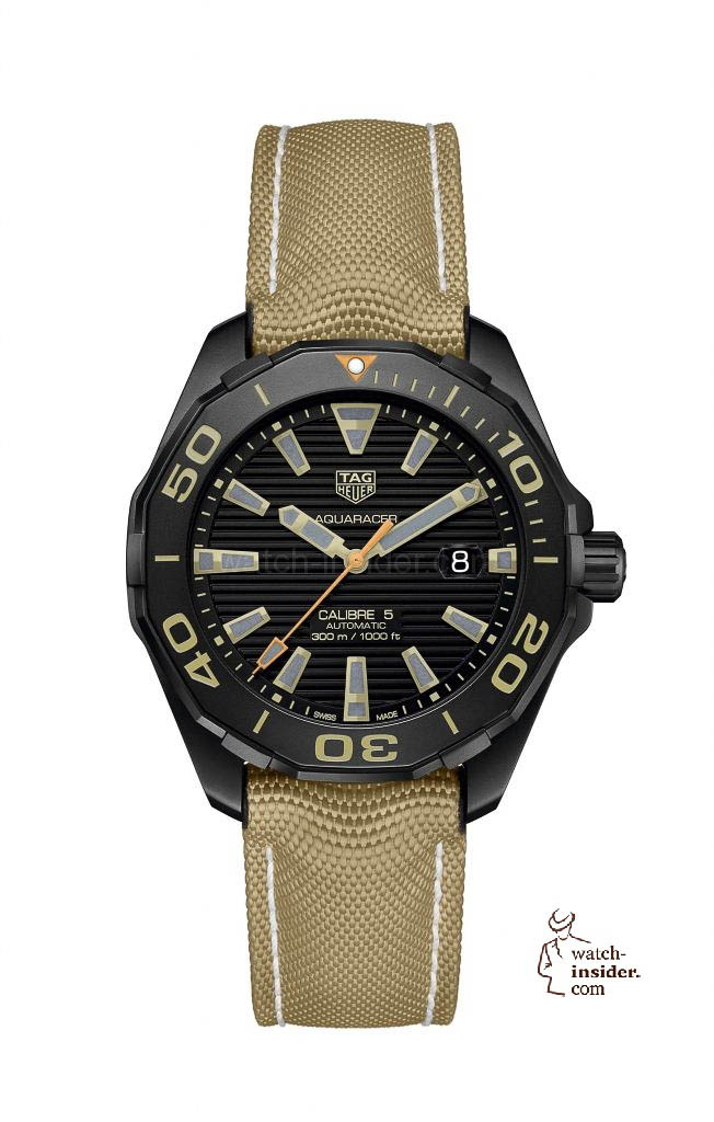 The new TAG Heuer Aquaracer 300 meters