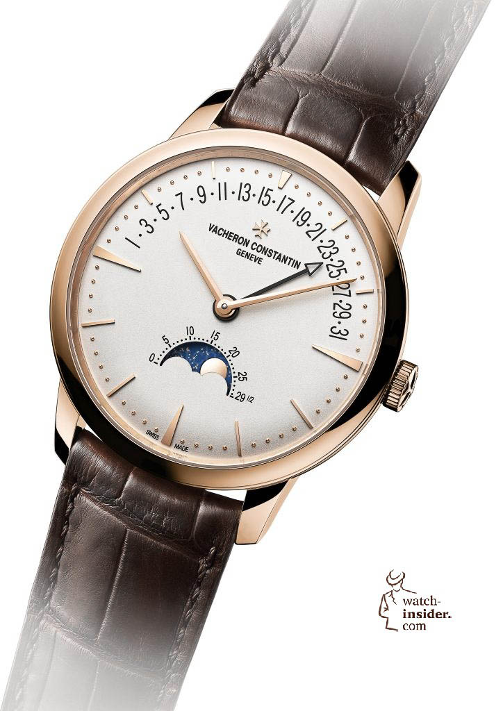 "Vacheron Constantin ""Patrimony moon phase and retrograde date"""