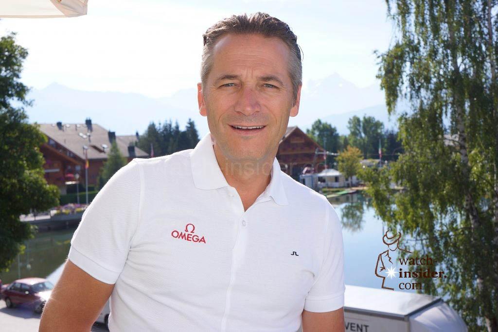 Raynald Aeschlimann, President OMEGA