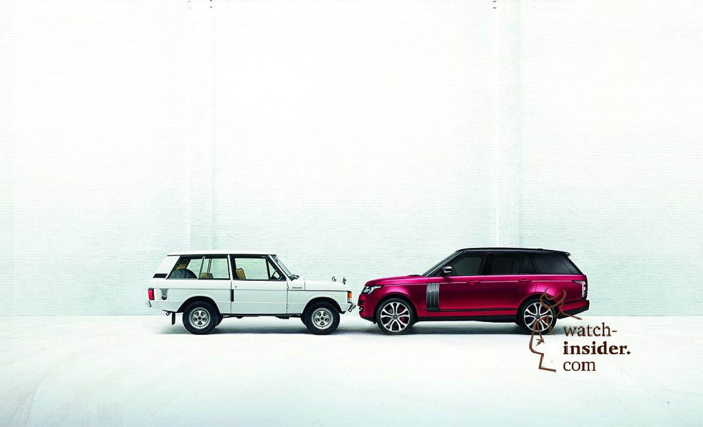 The first and latest Range Rover
