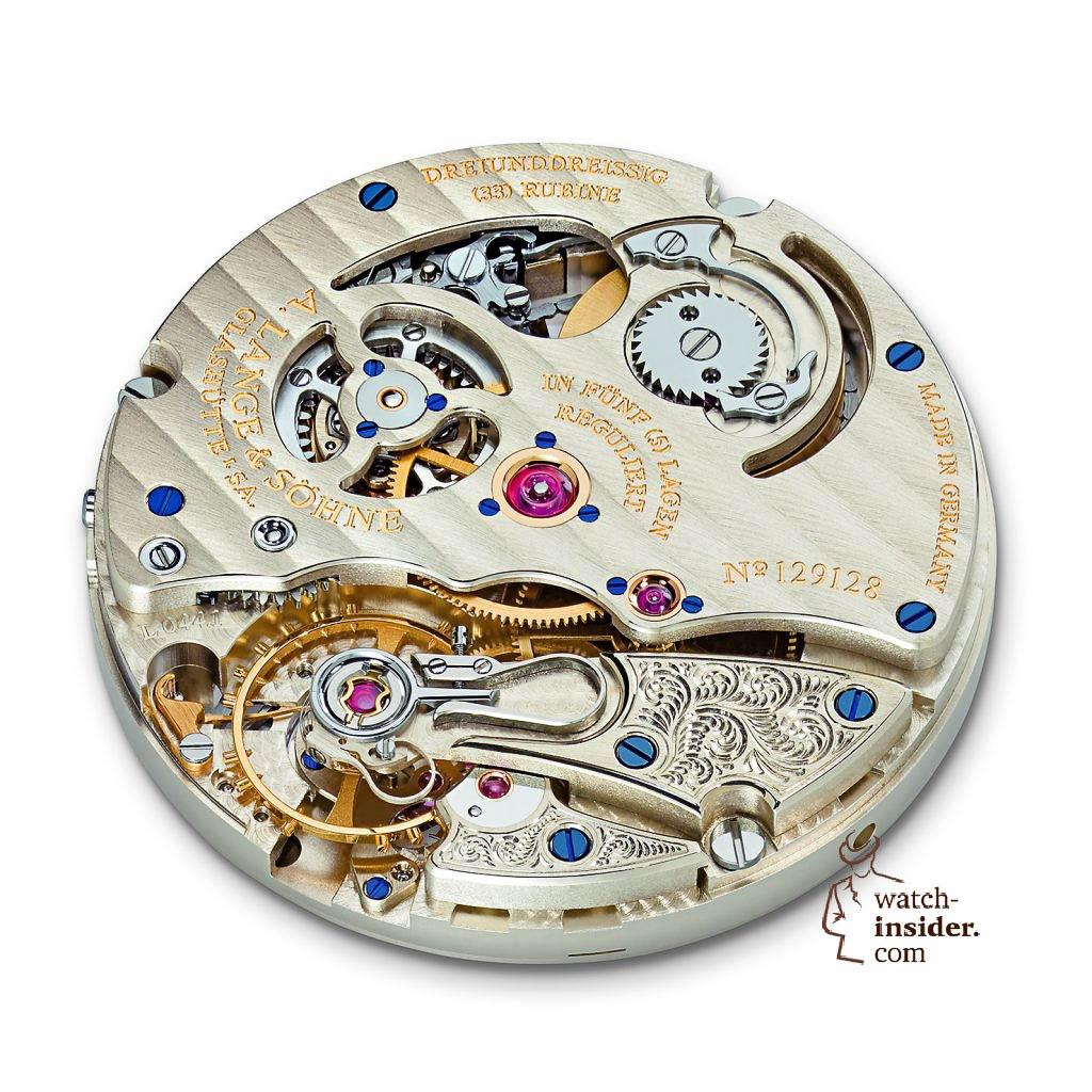 """A. Lange & Söhne RICHARD LANGE """"Pour le Mérite"""". Lange manufacture calibre L044.1"""