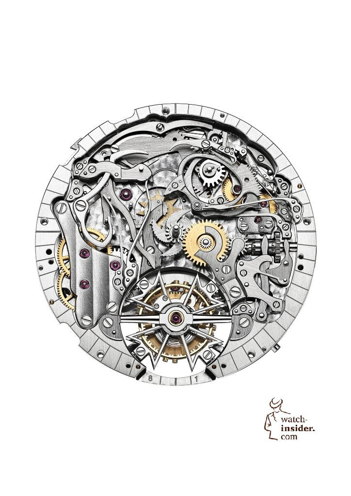 Calibre 2755 TMR developed and manufactured by Vacheron Constantin