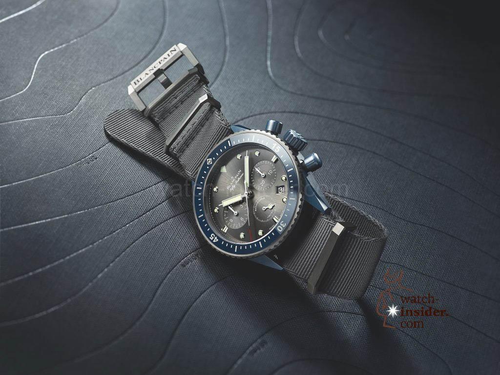 Blancpain Fifty Fathoms Bathyscaphe Flyback Chronograph Blancpain Ocean Commitment II