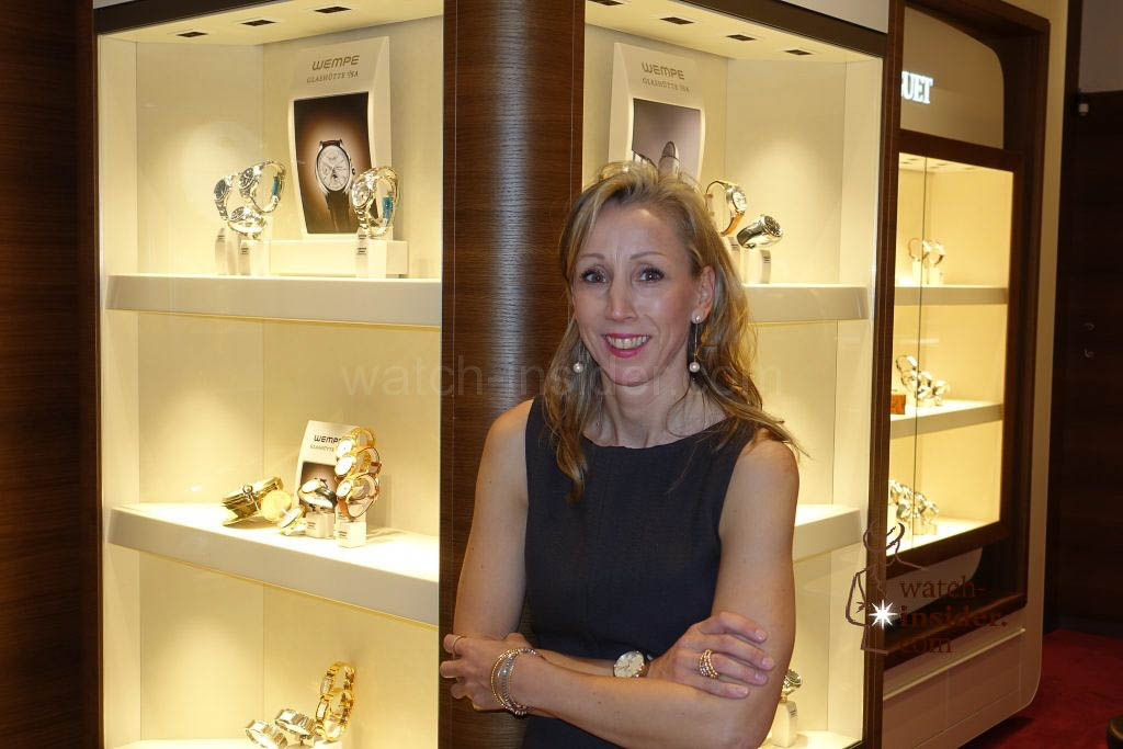 Sophie Hausherr, the watch purchasing manager at Wempe in New York.