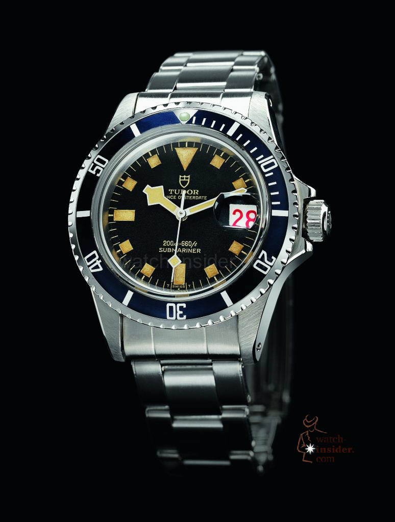 "In 1969 Tudor introduces a new divers' watch reference with a calendar function for the first time: the Reference 7021. The date disc, nicknamed ""roulette"" by collectors, has alternate black and red numbers."