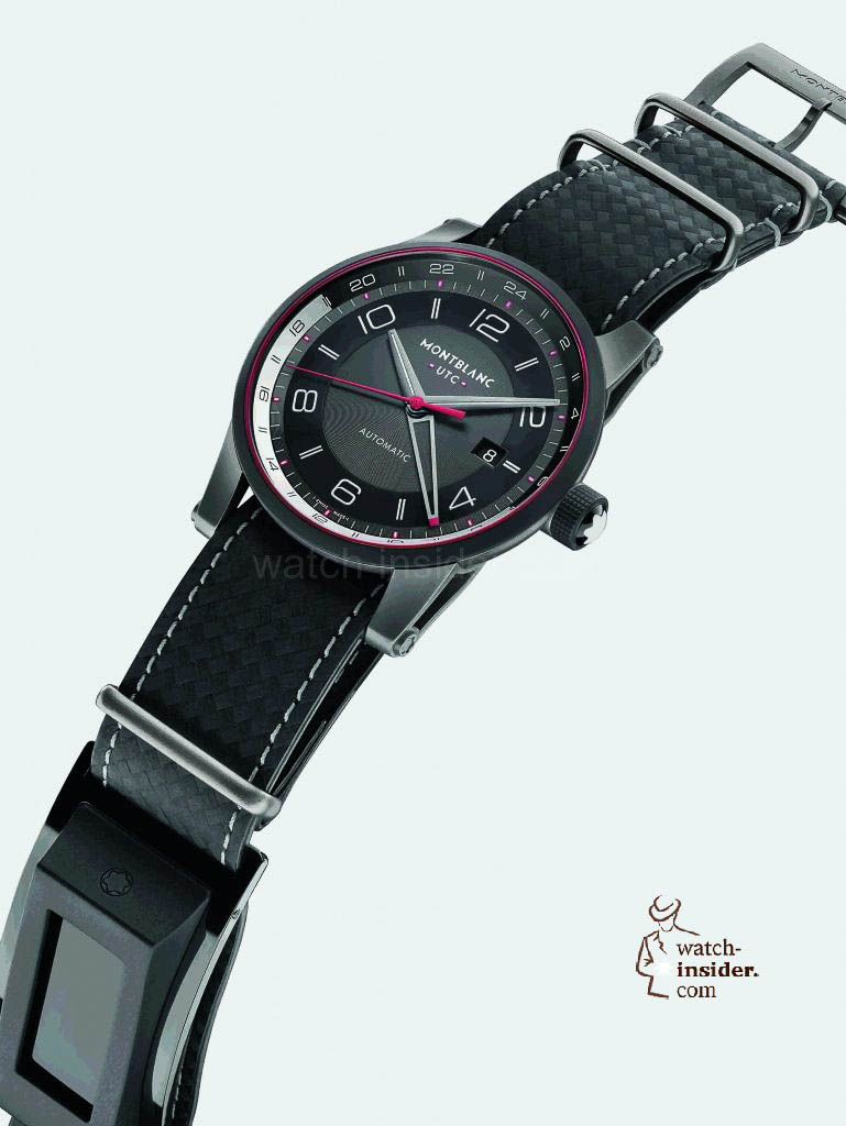 "Montblanc ""Time Walker Urban Speed UTC eStrap"""