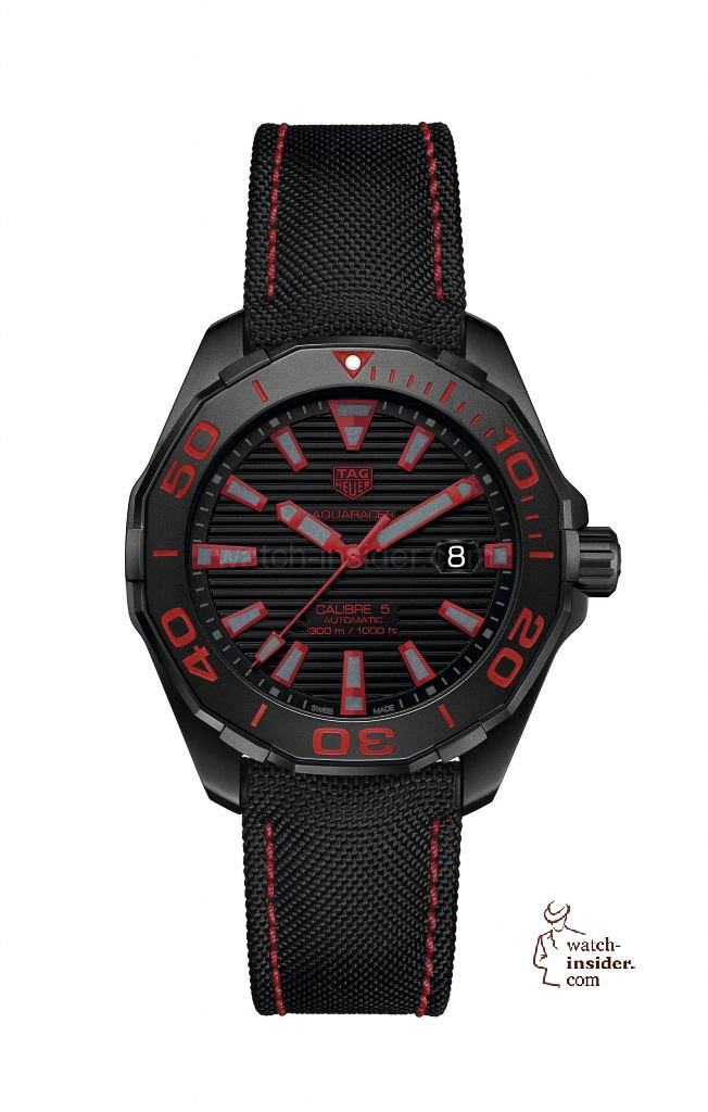 TAG Heuer Aquaracer 300 M Calibre 5 Black Titanium