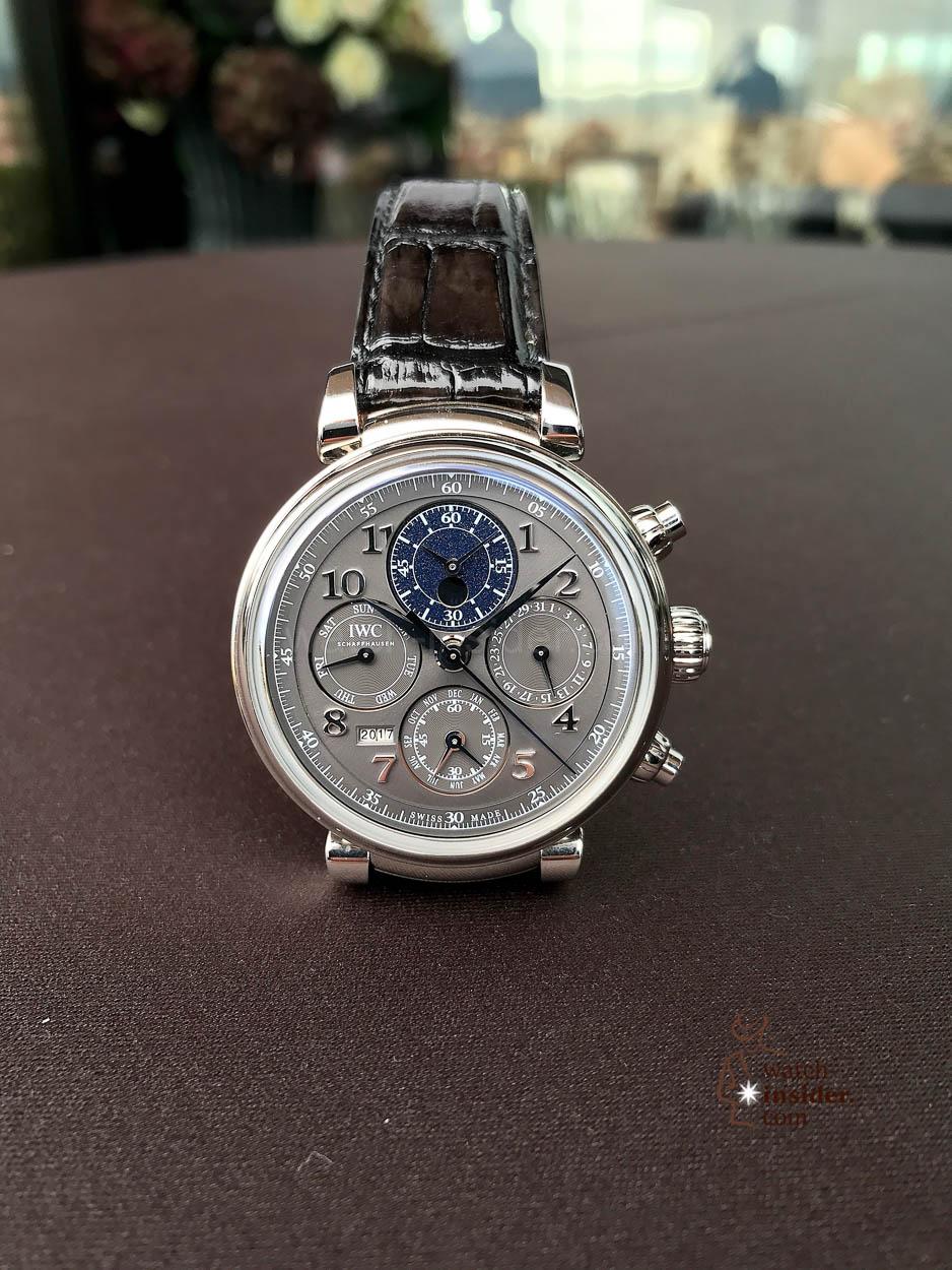 IWC Schaffhausen Da Vinci Perpetual Calendar Chronograph