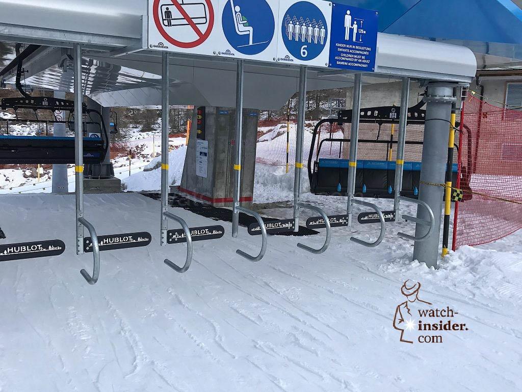 The Hublot-Express in Zermatt