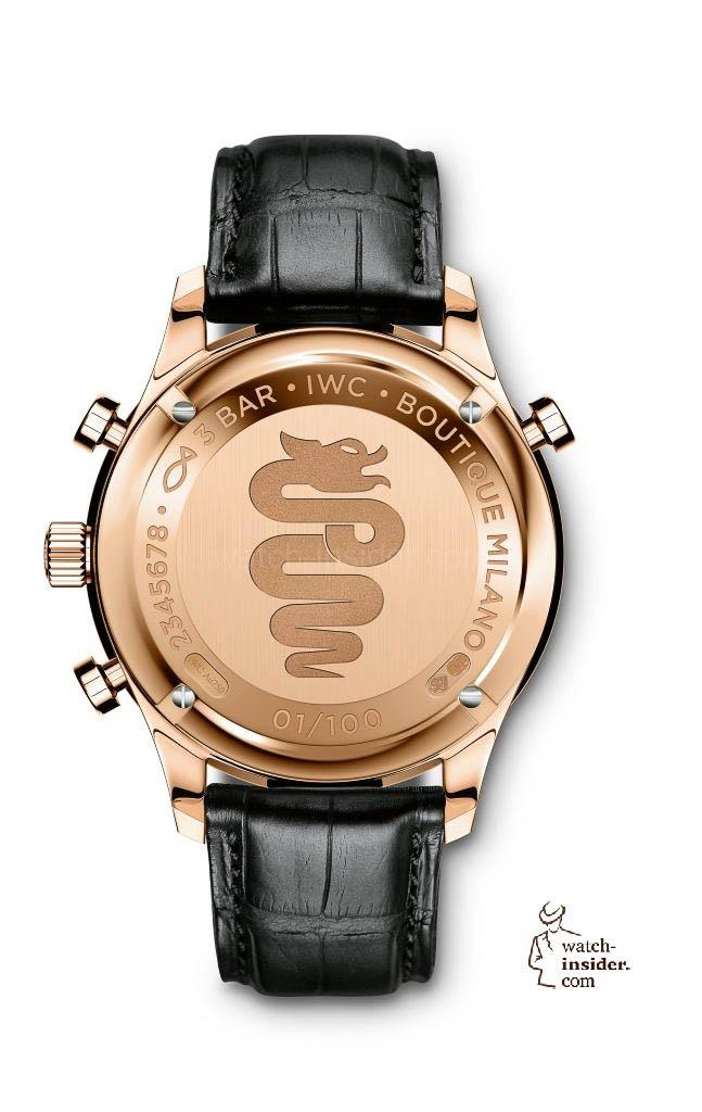 "IWC Schaffhausen Portugieser Chronograph Rattrapante Edition ""Boutique Milano"" (Ref. IW371215)"