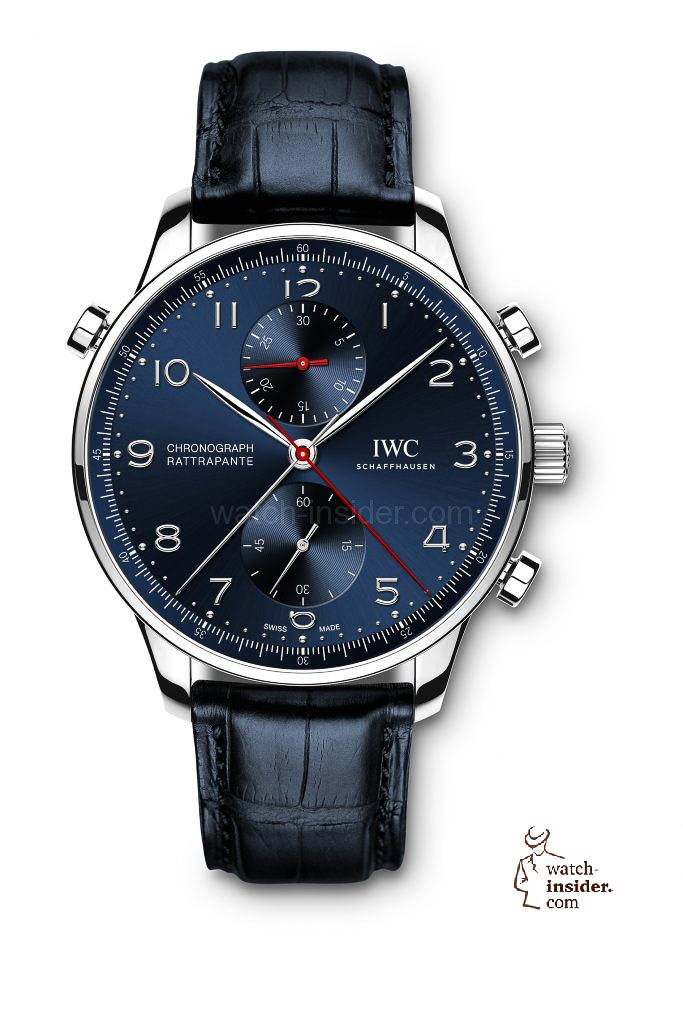 "IWC Schaffhausen Portugieser Chronograph Rattrapante Edition ""Boutique Munich"""