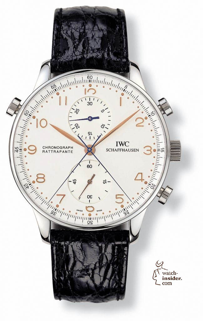 The 1995 IWC Schaffhausen Portugieser Chronograph Rattrapante Ref. 3712.