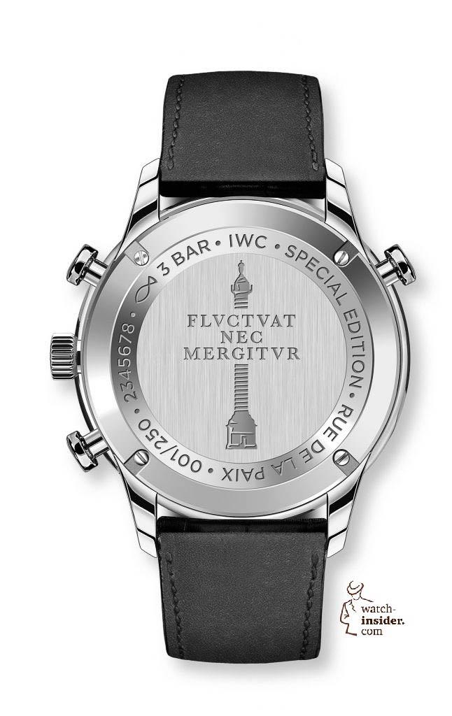 "The IWC Schaffhausen Portugieser Chronograph Rattrapante Edition ""Boutique Rue de la Paix"" (Ref. IW371216)"