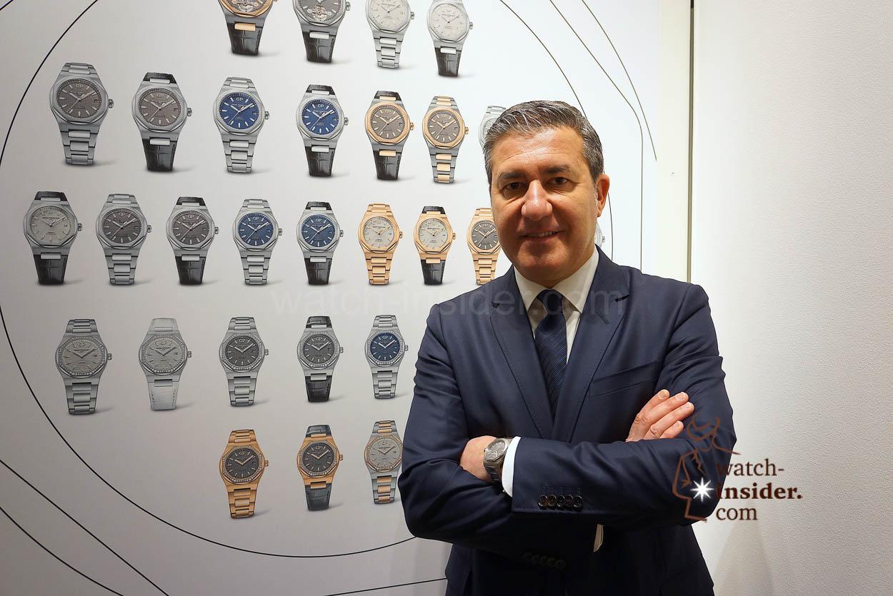 Antonio Calce CEO Girard-Perregaux