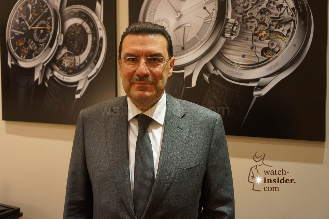 Charlie Torres CEO Vacheron Constantin