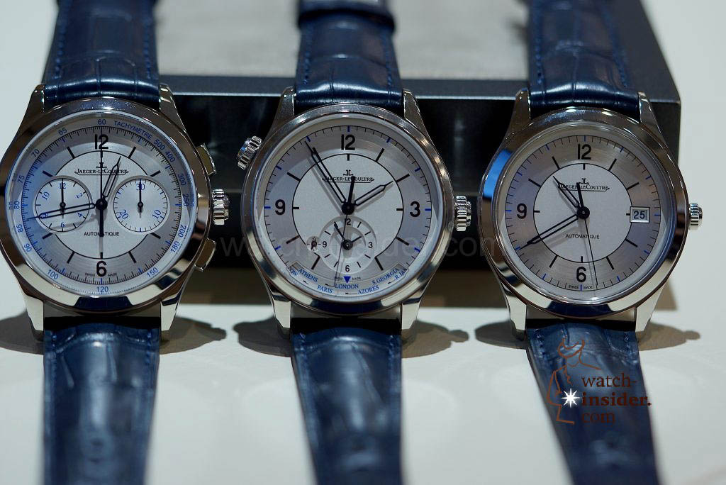 Jaeger-LeCoultre Master Control Chronograph, Geographic, Date